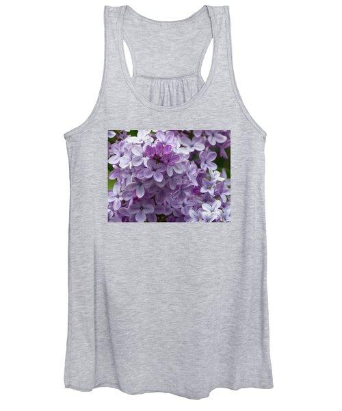 Lavender Lilacs Women's Tank Top
