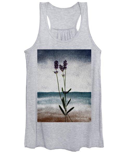Lavender Ocean Breath Women's Tank Top