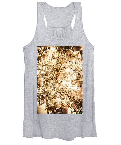 Law And Justice Abstract Women's Tank Top