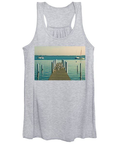 Lazy Afternoon Pier Women's Tank Top