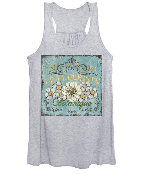 Le Fleuriste De Botanique Women's Tank Top