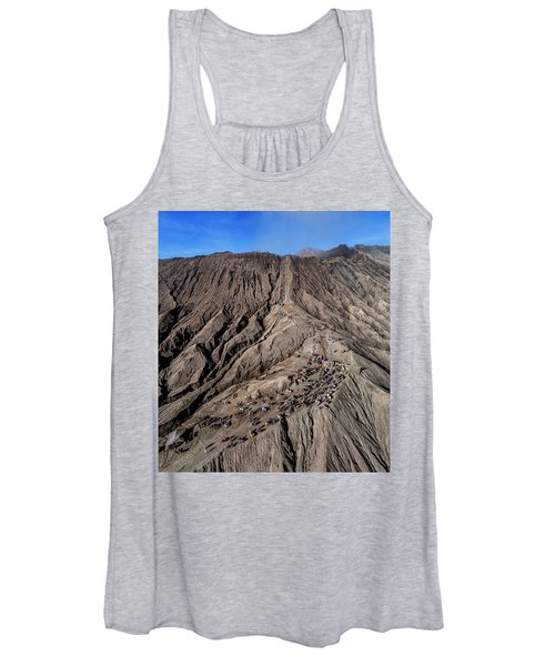 Leading To The Volcano Crater Women's Tank Top