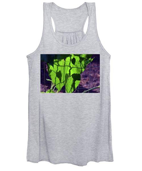 Leaf Shadows Women's Tank Top