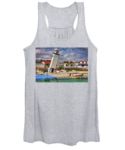 Leaning Lighthouse Women's Tank Top