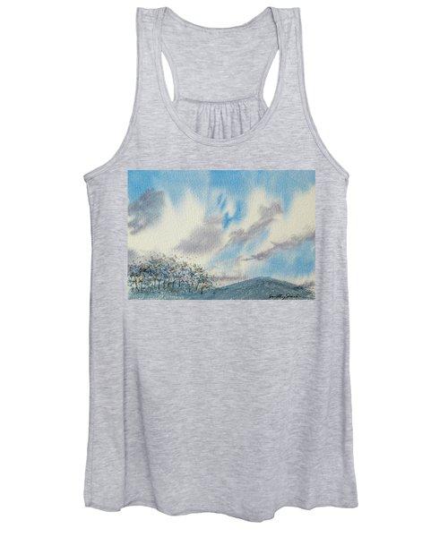 The Blue Hills Of Summer Women's Tank Top
