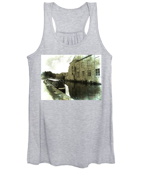 Leeds Liverpool Canal Unchanged For 200 Years Women's Tank Top
