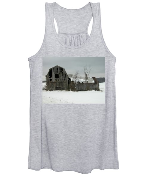 Letchworth Barn 0077b Women's Tank Top