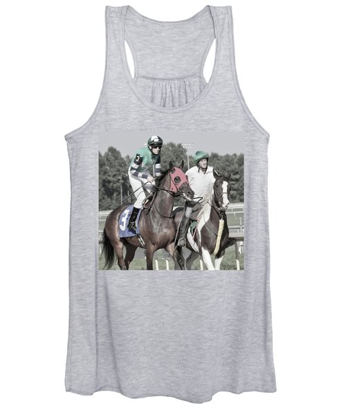 Let's Get'um To The Gate Women's Tank Top