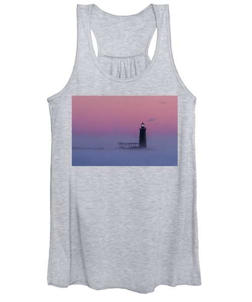 Lighthouse In The Clouds Women's Tank Top