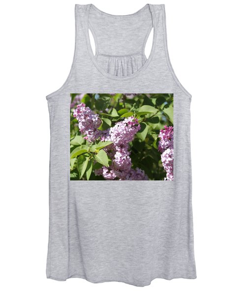 Women's Tank Top featuring the photograph Lilacs 5544 by Antonio Romero