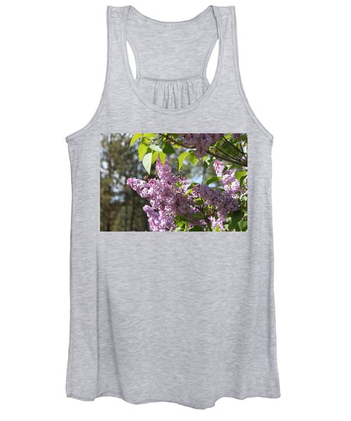 Women's Tank Top featuring the photograph Lilacs 5545 by Antonio Romero