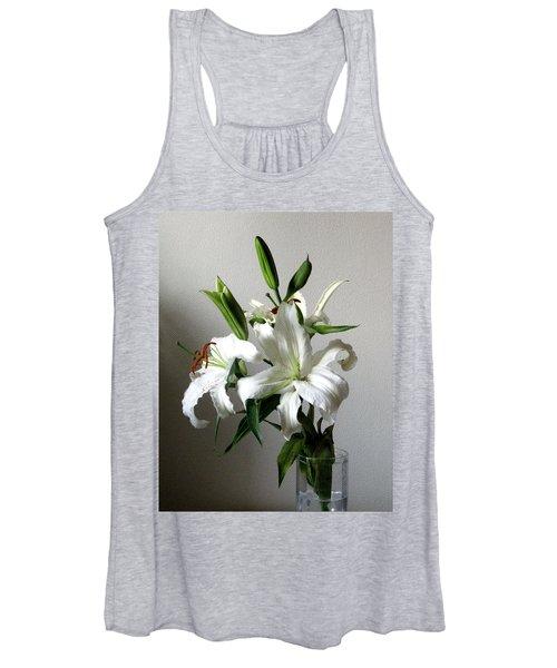 Lily Flower Women's Tank Top
