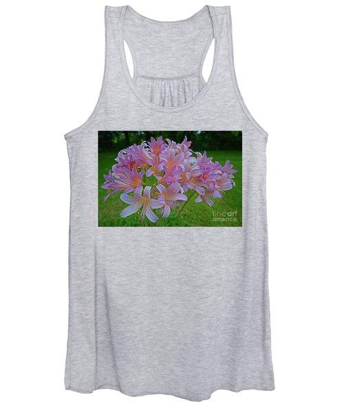 Lily Lavender Women's Tank Top