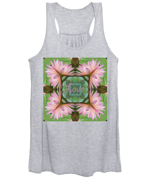 Lily Pad Love Women's Tank Top