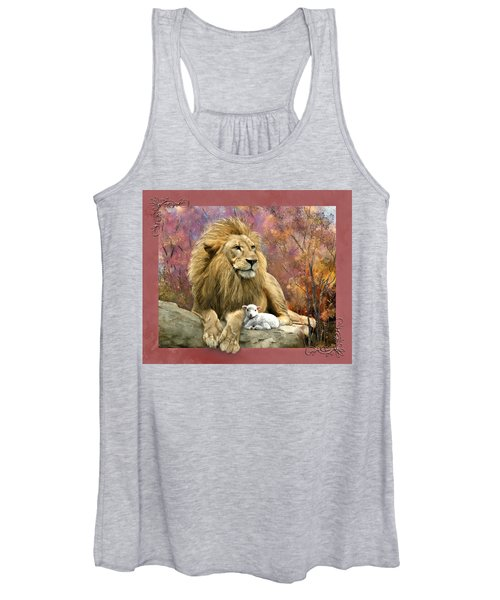 Lion And The Lamb Women's Tank Top