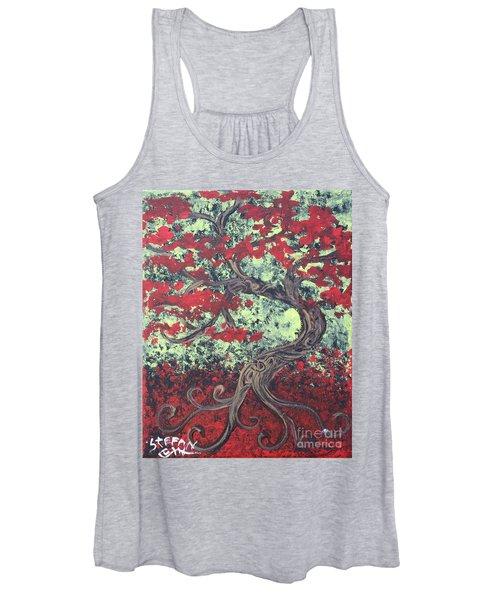 Little Red Tree Series 3 Women's Tank Top