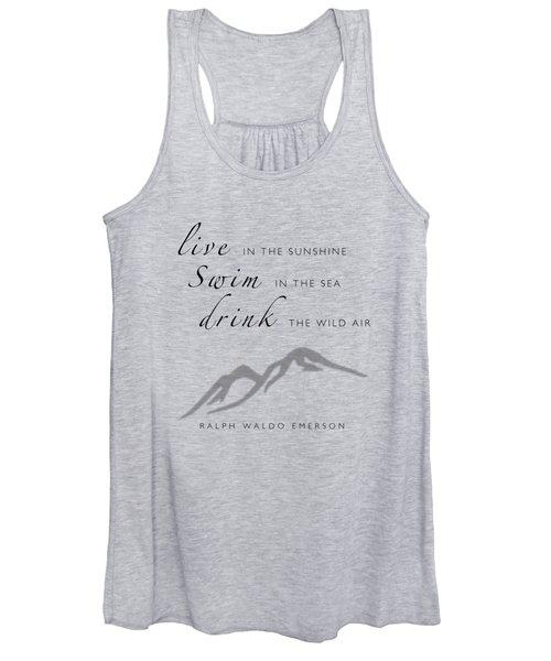 Live Swim Drink Women's Tank Top