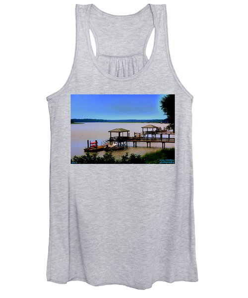 Living In The Lowcountry Women's Tank Top