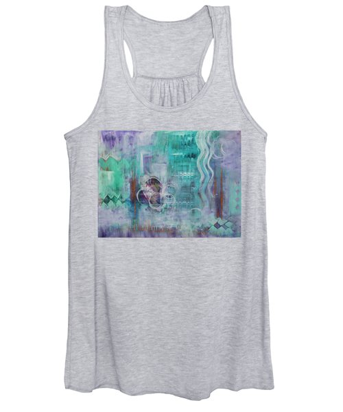 Living In The Mystery Women's Tank Top