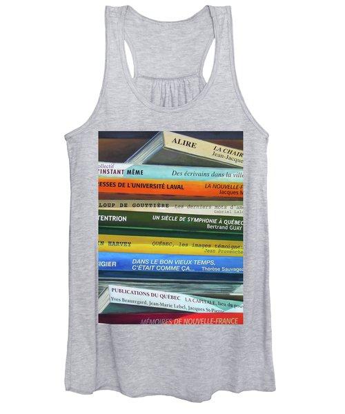 Livres ... Women's Tank Top