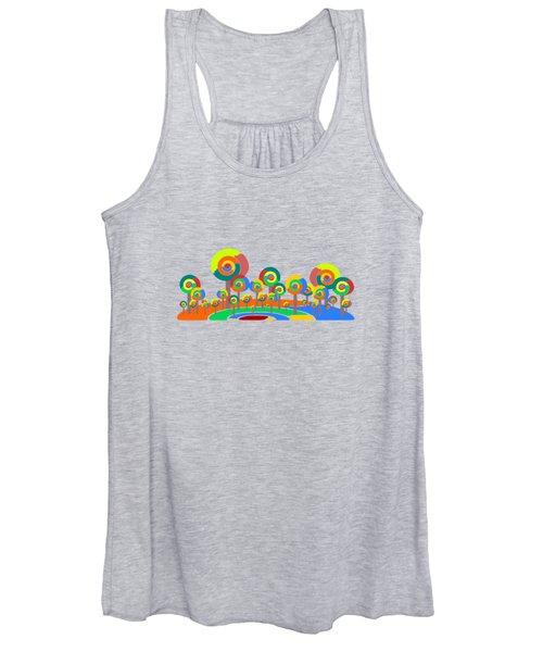 Lollypop Island Women's Tank Top