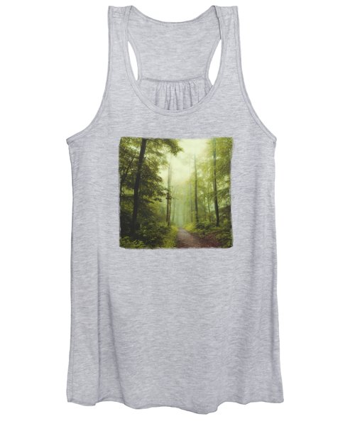 Long Forest Walk Women's Tank Top