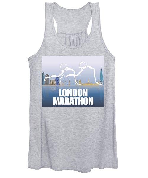 London Marathon 1 Women's Tank Top