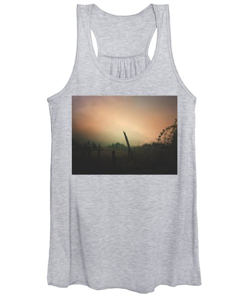 Lonely Fence Post  Women's Tank Top