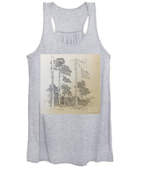 Lonely Pines Women's Tank Top
