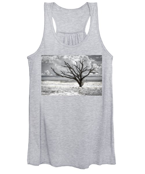 Women's Tank Top featuring the photograph Lonesome by Michael Colgate