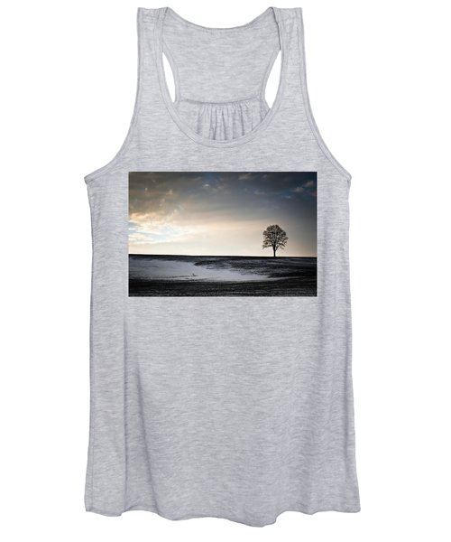 Lonesome Tree On A Hill IIi Women's Tank Top