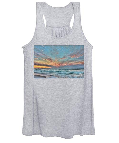 Long Beach Island Sunrise Women's Tank Top