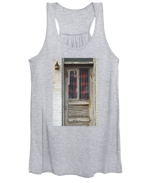 Long Face Women's Tank Top