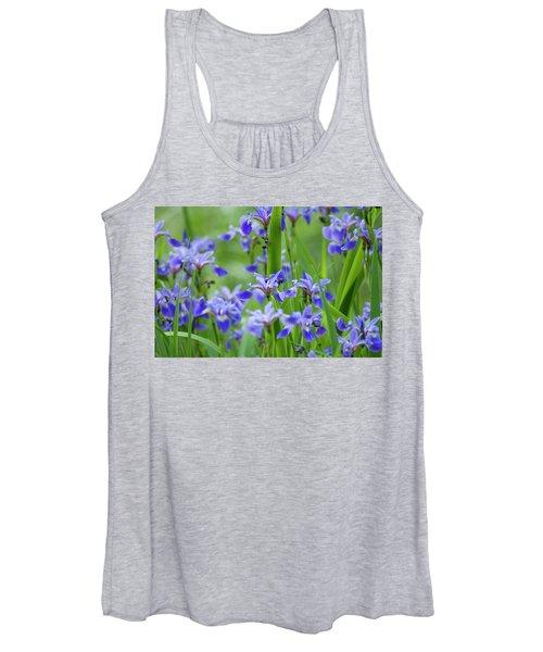 Longwood Garden Flowers Up Close Women's Tank Top