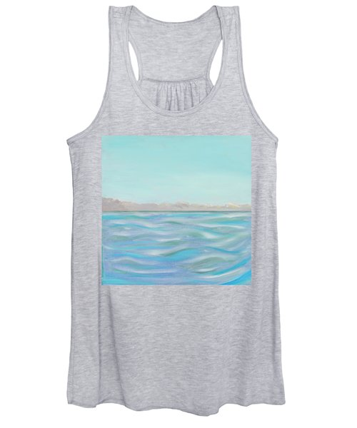 Looking South Tryptic Part 1 Women's Tank Top