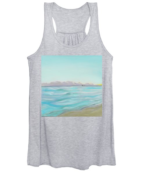 Looking South Tryptic Part 2 Women's Tank Top