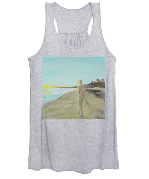 Looking South Tryptic Part 3 Women's Tank Top