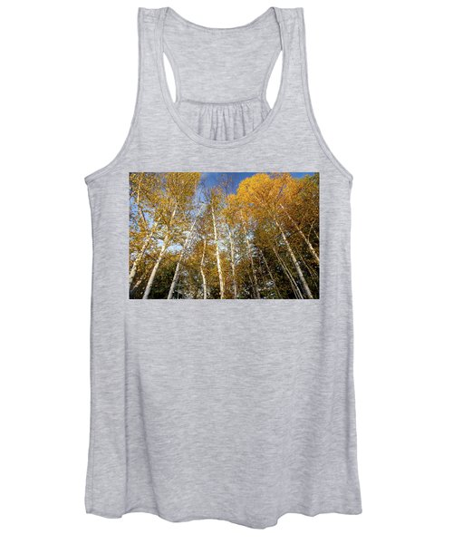 Looking Up Women's Tank Top