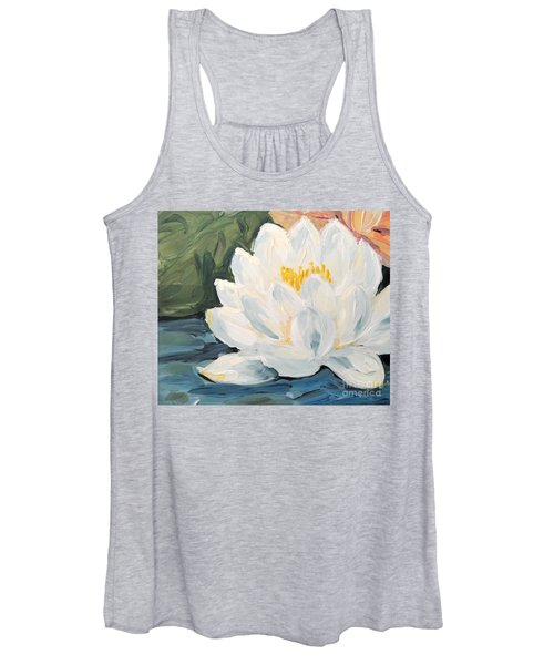 Lotus Women's Tank Top