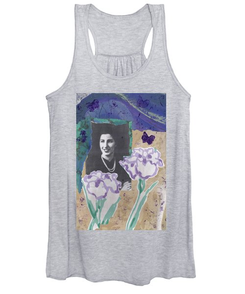 Louise In Boston 1944 In Memory Of My Mother Women's Tank Top