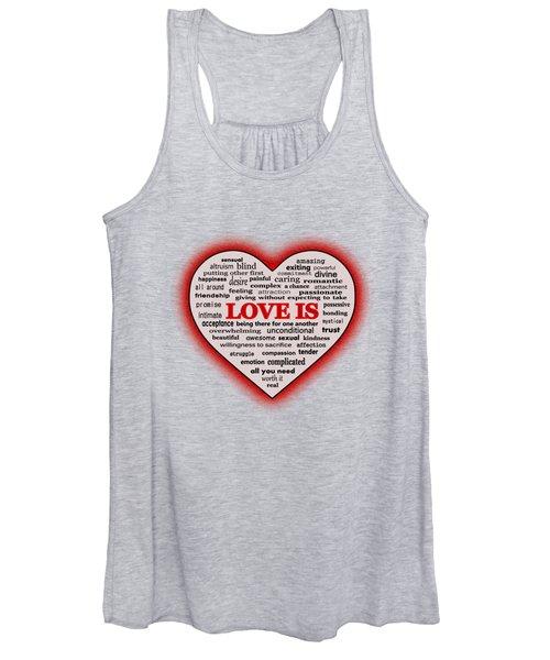 Love Is Women's Tank Top