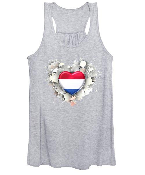 Love Netherland.1 Women's Tank Top