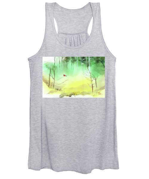 Lovebirds 3 Women's Tank Top