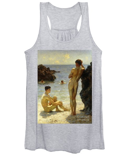 Lovers Of The Sun Women's Tank Top
