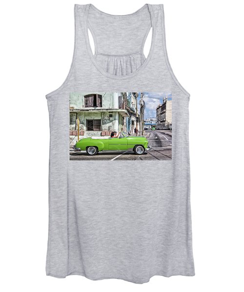 Lovin' Lime Green Chevy Women's Tank Top