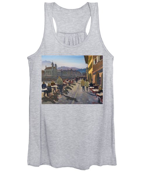 Lunchtime In Luzern Women's Tank Top