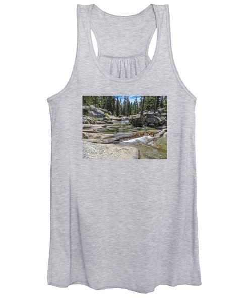 Lyell Fork Tuolomne River Yosemite National Park Women's Tank Top