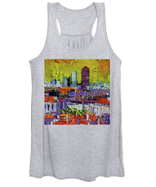 Lyon At Sunrise Women's Tank Top