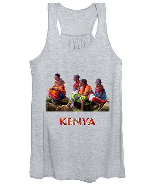 Samburu In Maasai Land Women's Tank Top