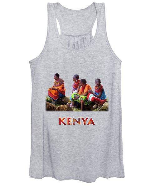 Samburu In Maasai Land Women's Tank Top